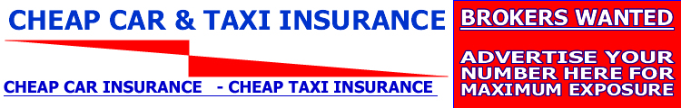 any driver over 18 taxi, cheap car and cheap taxi insurance in the uk